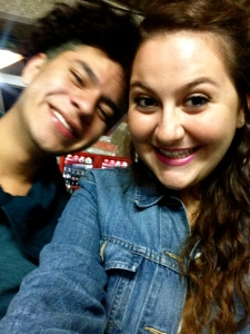 Oscar and I at Coyoacan.