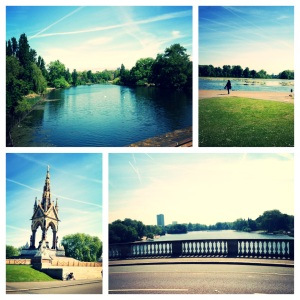 The beautiful Hyde Park and Kensington Gardens are perfect for running.