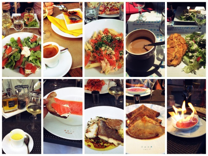 The city of love enamored me with its many delicacies and palatable foods.